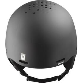 Salomon Brigade+ Audio Helmet Herre all black